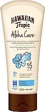 Parfums et Produits cosmétiques Lotion solaire pour corps - Hawaiian Tropic Aloha Care Protective Sun Lotion Mattifies Skin SPF 15