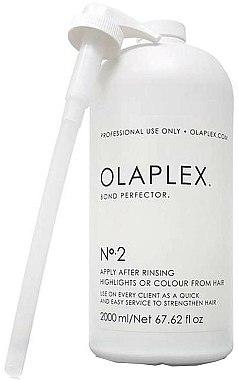 Traitement après coloration sans silicone pour cheveux - Olaplex Bond Perfector No.2