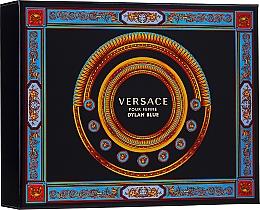 Parfums et Produits cosmétiques Versace Pour Femme Dylan Blue - Coffret (eau de parfum/50ml + lotion corporelle/50ml + gel douche/50ml)