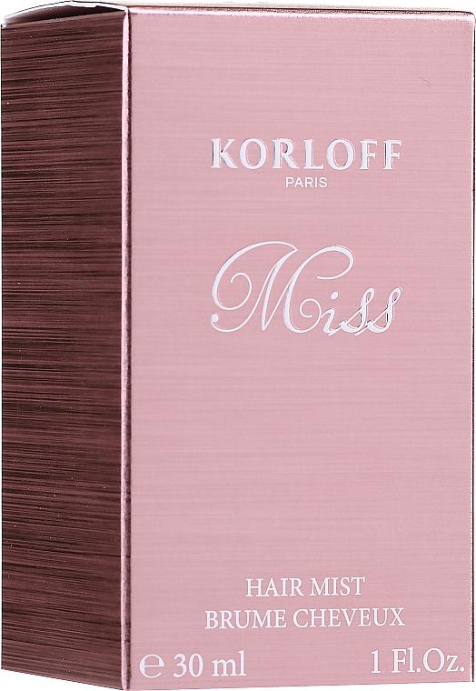 Korloff Paris Miss - Brume pour cheveux
