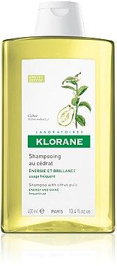 Shampooing énergisant au cédrat - Klorane Shampoo With Citrus Pulp — Photo N2