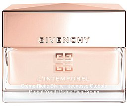 Parfums et Produits cosmétiques Crème à l'extrait de raisin pour visage - Givenchy L`Intemporel Global Youth Divine Rich Cream