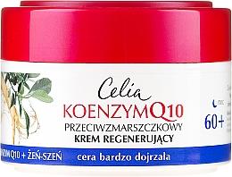 Parfums et Produits cosmétiques Crème de nuit à la coenzyme Q10 et extrait de ginseng - Celia Coenzyme Q10 60+