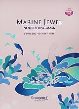 Parfums et Produits cosmétiques Masque tissu à l'eau marine pour visage - Shangpree Marine Jewel Nourishing Mask