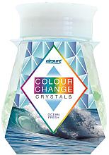Parfums et Produits cosmétiques Désodorisant en gel avec cristaux, Océan - Airpure Colour Change Crystals Ocean Fresh