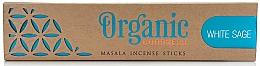 Parfums et Produits cosmétiques Bâtons d'encens, Sauge blanche - Song Of India Organic Goodness White Sage