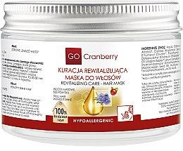 Parfums et Produits cosmétiques Masque revitalisant à l'huile de canneberge et lin pour cheveux - GoCranberry Revitalizing Hair Mask