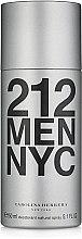 Parfums et Produits cosmétiques Carolina Herrera 212 MEN NYC - Déodorant spray parfumé