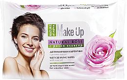 Parfums et Produits cosmétiques Lingettes nettoyantes à l'huile de rose - Nature of Agiva Wet Wipes Cleaning Make Up Rose Oil