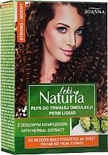 Parfums et Produits cosmétiques Set de permanente cheveux indisciplinés (lotion permanente + fixateur) - Joanna Naturia Loki Liquid