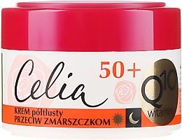 Parfums et Produits cosmétiques Crème de jour et nuit à la coenzyme Q10 et vitamines - Celia Q10 Vitamin 50+