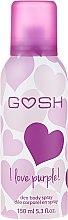 Parfums et Produits cosmétiques Déodorant spray pour corps - Gosh I Love Purple Deo Body Spray