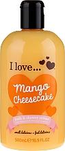 Parfums et Produits cosmétiques Crème bain et douche Cheesecake à la mangue - I Love... Mango Cheesecake Bath And Shower Cream