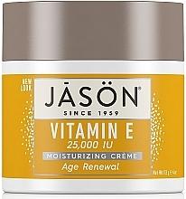 Parfums et Produits cosmétiques Crème à la vitamine E pour visage et corps - Jason Natural Cosmetics Age Renewal Vitamin E