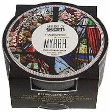 Parfums et Produits cosmétiques Bougie parfumée de soja et cire d'abeille - House of Glam Frankincense Myrrh Candle (mini)