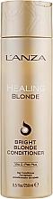 Parfums et Produits cosmétiques Après-shampooing à l'extrait de pomme - L'anza Healing Blonde Bright Blonde Conditioner