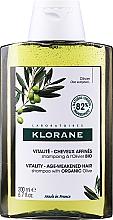 Parfums et Produits cosmétiques Shampooing revitalisant à l'olivier bio - Klorane Vitality Age-Weakened Organic Olive Hair Shampoo