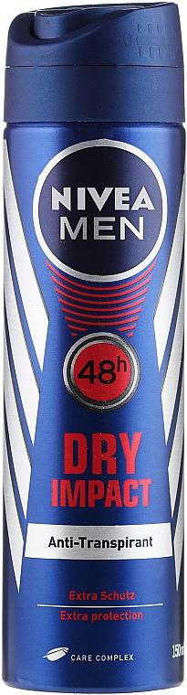 Déodorant spray anti-transpirant - Nivea Men Dry Impact Deo Spray