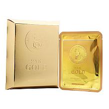 Parfums et Produits cosmétiques Masque tissu au filtrat de bave d'escargot pour visage - Elizavecca 24k Gold Water Dew Snail Mask