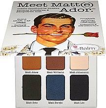 Parfums et Produits cosmétiques Palette de fards à paupières mats - theBalm Meet Matt(e) Ador Matte Eyeshadow Palette