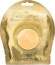 Parfums et Produits cosmétiques Patchs hydrogel pour contour des yeux, dorés - Kocostar Princess Eye Patch Gold
