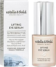 Parfums et Produits cosmétiques Sérum liftant à l'extrait de feuille de ronce pour contour des yeux - Estelle & Thild Super Bioactive Lifting Eye Serum