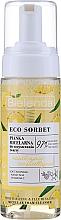 Parfums et Produits cosmétiques Mousse micellaire aux acides AHA pour visage - Bielenda Eco Sorbet Moisturizing & Brightening Micellar Cleansing Foam