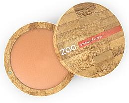 Parfums et Produits cosmétiques Poudre bronzante et matifiante pour visage - Zao Natural Glow Terracotta Matt Mineral Cooked Powder