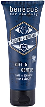 Parfums et Produits cosmétiques Crème à raser - Benecos For Men Only Shaving Cream