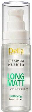 Base de maquillage matifiant - Delia Cosmetics Long Matt Make Up Primer