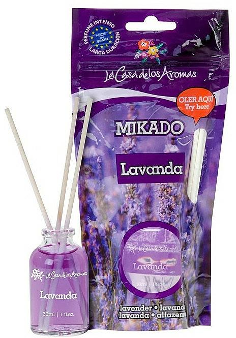 Bâtonnets parfumés, Lavande - La Casa de Los Aromas Mikado Reed Diffuser