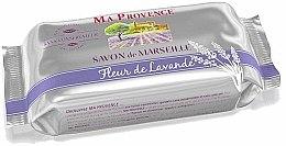 Parfums et Produits cosmétiques Savon de Marseille Fleur parfumé à la lavande - Ma Provence Marseille Soap Lavande