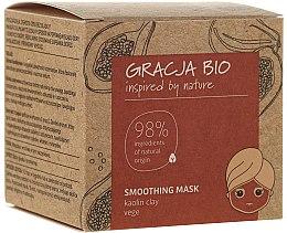 Parfums et Produits cosmétiques Masque lissant à l'argile kaolin pour visage - Gracja Bio Smoothing Mask