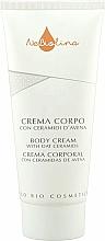 Parfums et Produits cosmétiques Crème aux céramides d'avoine pour corps - NeBiolina Body Cream With Oat Ceramides