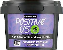 Parfums et Produits cosmétiques Beurre à l'huile de lavande et macadamia pour visage et corps - Beauty Jar Soothing Face And Body Butter
