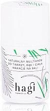 Parfums et Produits cosmétiques Crème à l'huile de fraise et café vert pour visage et corps - Hagi