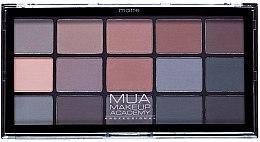 Parfums et Produits cosmétiques Palette de fards à paupières - MUA 15 Shade Palette