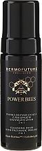 Parfums et Produits cosmétiques Mousse nettoyante et peeling enzymatique visage 2 en 1 - Dermofuture Power Bees Cleansing Foam 2in1