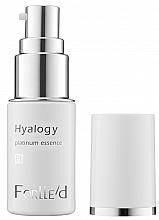 Parfums et Produits cosmétiques Sérum antioxydant à la platine pour visage - ForLLe'd Hyalogy Platinum Essence