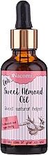 Parfums et Produits cosmétiques Huile d'amande douce naturelle avec pipette - Nacomi Sweet Almond Oil