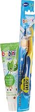 Parfums et Produits cosmétiques Bobini pour enfants - Kit(brosse à dents souple + dentifrice/75ml)