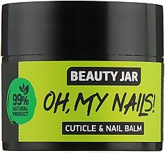 Parfums et Produits cosmétiques Baume à l'huile de citron pour ongles et cuticules - Beauty Jar Cuticle&Nail Balm