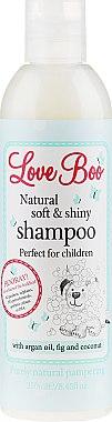 Shampooing à l'huile d'argan, figue et noix de coco - Love Boo Natural Soft And Shiny — Photo N1