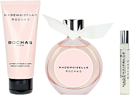 Rochas Mademoiselle Rochas - Coffret (eau de parfum/90ml + lait corporel/100ml + eau de parfum/7.5ml) — Photo N2