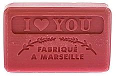 Parfums et Produits cosmétiques Savon végétal de Marseille, Je t'aime - Foufour Savonnette Marseillaise I Love You
