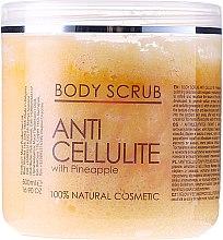 Parfums et Produits cosmétiques Gommage raffermissant à l'huile d'ananas pour corps - Sezmar Collection Professional Body Scrub Anti Cellulite With Pineapple