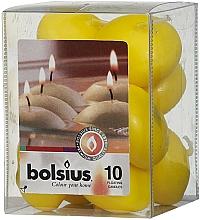 Parfums et Produits cosmétiques Set de bougies décoratives, jaune - Bolsius