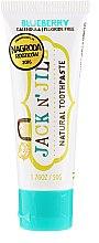 Parfums et Produits cosmétiques Dentifrice aux myrtilles - Jack N' Jill Natural Toothpaste Blueberry