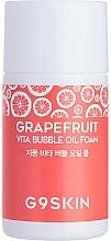 Parfums et Produits cosmétiques Huile hydrophile à l'extrait de pamplemousse pour visage - G9Skin Grapefruit Vita Bubble Oil Foam (mini)