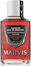 Parfums et Produits cosmétiques Bain de bouche concentré à la cannelle et à la menthe - Marvis Concentrate Cinnamon Mint Mouthwash